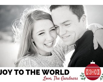 Joy to the World | Custom Christmas Cards