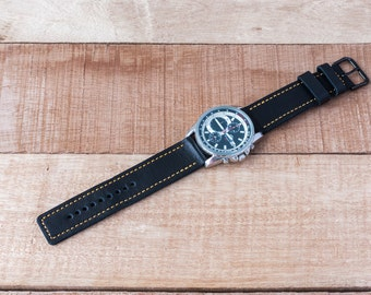 Sale,Leather Watch Strap 24mm