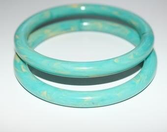 Aqua Blue Green Oceans Bracelets