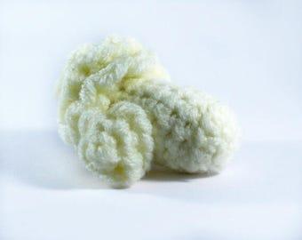 Crocheted Caulliflower - Play food - Educational - Learning - Preschool - Teething - Nursery