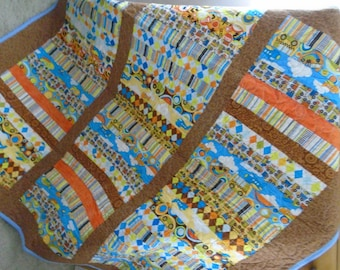 Planes, Trains and Automobiles boys quilt