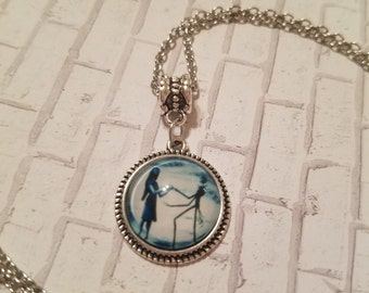 Sale Jack & Sally necklace