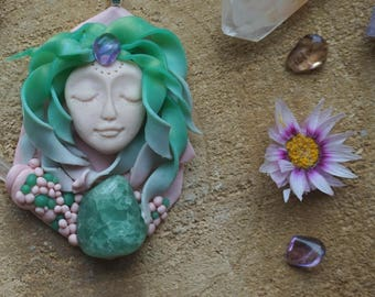 Flower Goddess Pendant MaevesForest