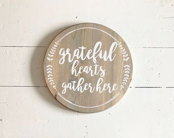 Made to Order • Grateful Hearts Gather Here