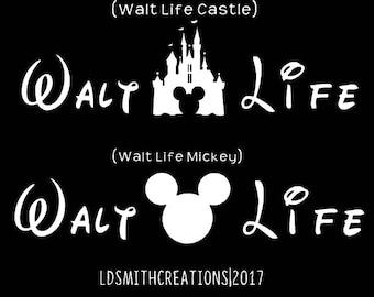Walt Life Decal | Car Decal | Car Sticker | Yeti Decal | Tumbler Decal | Yeti Walt Life Decal | Car Accessories