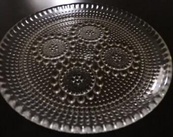 Riihimaen, Finland, GRAPPONIA,  plate, designed  Nanny Still/mid- century modern