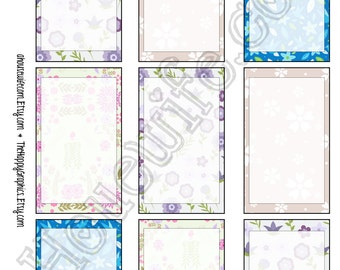 Happy Planner stickers [156] , Full box, A5 PDF, Instant download
