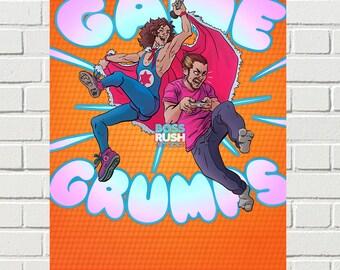 Game Grumps SHOUT print