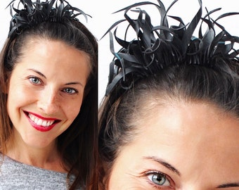 Recycled/Upcycled/Inner Tube Hairband