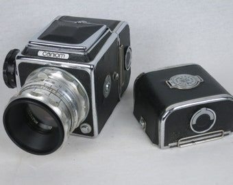 SALYUT 6x6, medium format camera, Hasselblad copy, ca. 1959