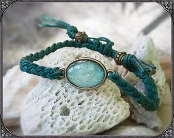 Cabochon Bracelet Esmeralda