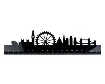 LONDON SKYLINE RULER