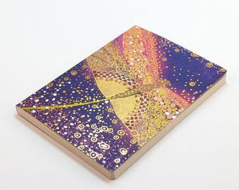 A5 Dragonfly Notebook,Patterned Notebook,Pocket Notebook,Cute Stationery,Bullet Journal,Exercise Book,Journal
