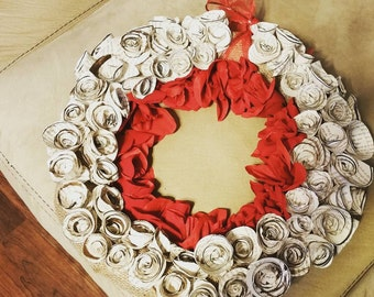 Romantic Rose wreath