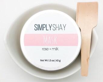 Rose + Milk Mask