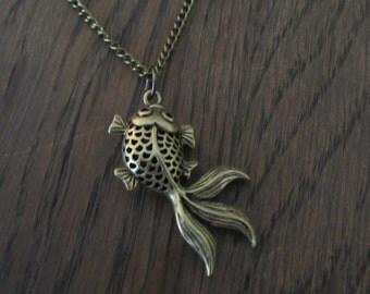 Necklace goldfish