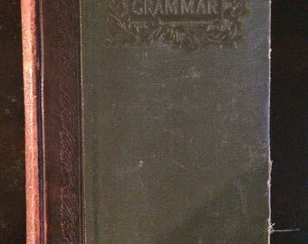 1899 printing Latin Grammar by Allen and Greenough