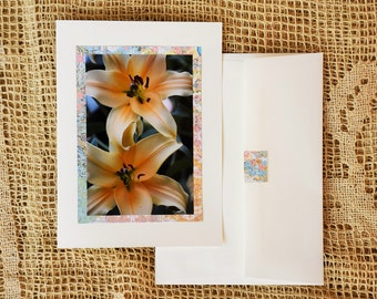 Conco d'Or Lily note card