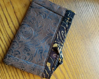 Coin credit card pouch small wallet!! Beautiful!