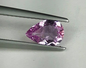 Natural 0.97ct pink Sapphire