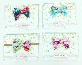 Baby bow, headband, hair clips, sailor bow