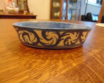 Dorchester Stoneware Soap Dish (FREE SHIPPING)