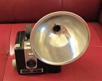 Brownie Hawkeye Camera w/ Flash Attachment