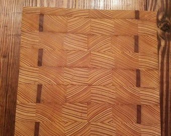 Cypress and Cherry Cutting Board