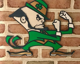 Notre Dame Fighting Irish 3d sign limited edition man cave art!