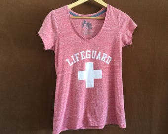 Soft pink Lifeguard t-shirt
