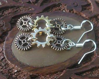 Steampunk Earrings/ Steampunk Jewellery