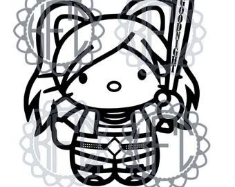 Kitty Kitten Suicide Squad Harley Quinn (.studio3 & svg)