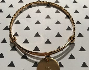 Nu Gold Bangle Bracelet