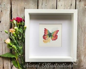 Watercolor Butterfl Art