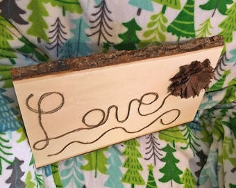 Twine String Love Sign