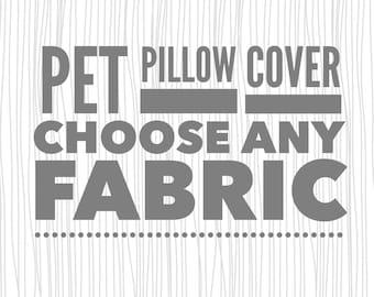 Pet Pillow Cover. Pet Pillow. Fur Baby Pillow. Pet Bed. Pet Bedding. Small Pet Bedding.