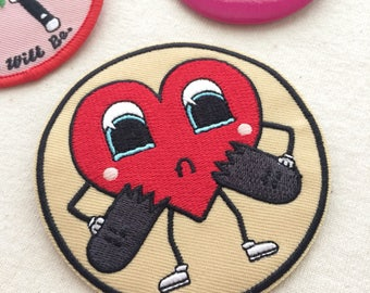 Bad Luck Heart Patch