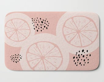 Pink Bath Mats, Bath Mat, Dorm Bath Mat, Bath Rug, Bathroom Mat