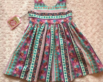 Scoop back dress in 5t