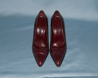 Authentic vintage Tod's shoes ! Genuine leather and python !