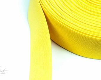 2m rubber tape - 50 mm - yellow (2,75 EUR / meter)