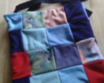 knit tote bag