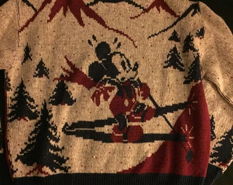 Kennington Mickey Mouse Ski Sweater