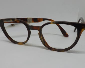 GLASSES VERA wang original never used 60 years round TURTLE eyewear glasses