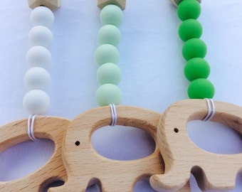 Gyms accessory from wood and silicone beads Gym