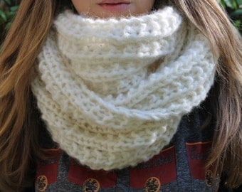 Scarf infinity, cowl, double neck
