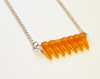 Bar Necklace in Tropic