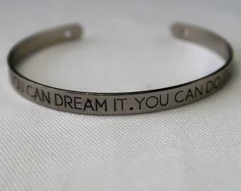 You Can Do It Bracelet