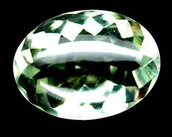 Natural Prasiolite Green Amethyst. Amazing Green Prasiolite Without Treatment. Loose gemstones.
