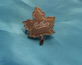 Vintage Mother Pin
